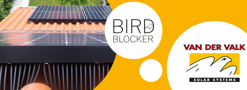 Bird Blocker door Expert Solar Systems